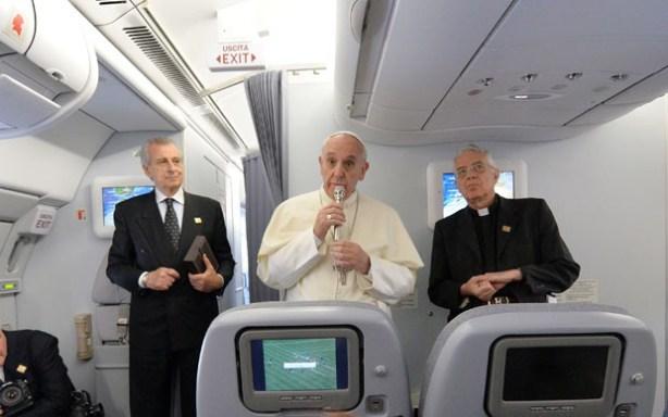 homilia papa no avião