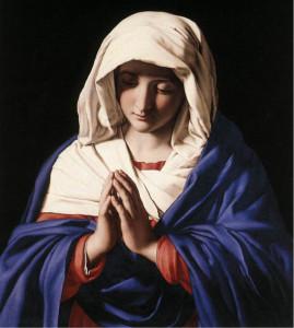 Virgem-Maria-em-oração-Sassoferrato